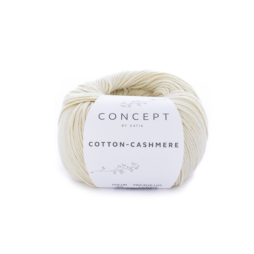 KATIA Cotton-Cashmere vanilková  f386a09fb24