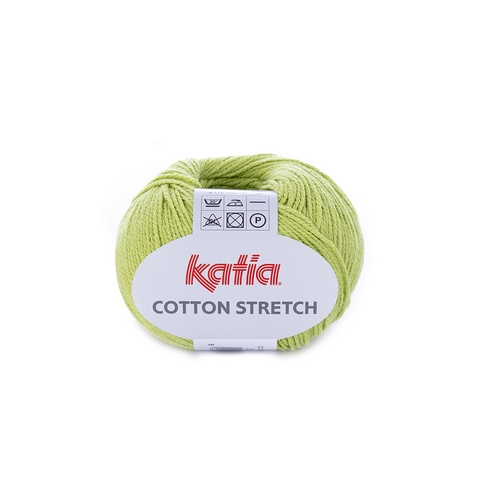 KATIA Cotton Stretch smaragdová