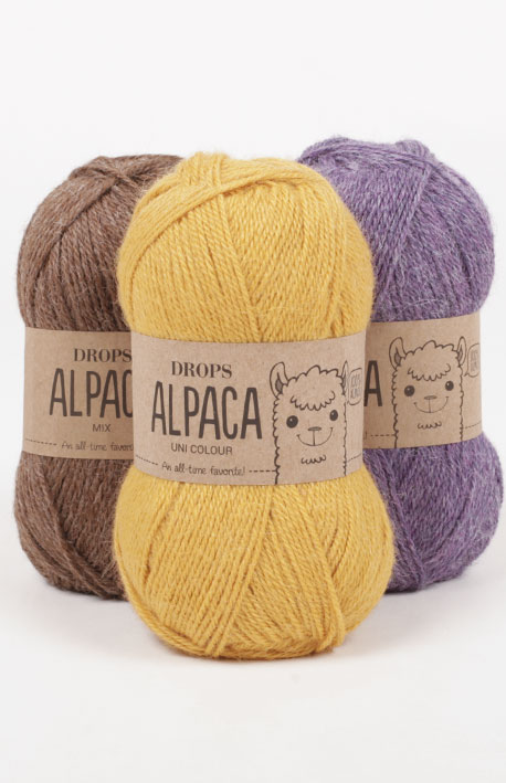 DROPS Alpaca Mix (rumenec)