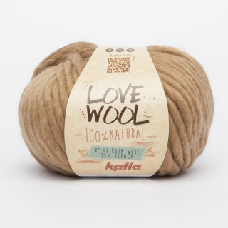 KATIA Love Wool - 120 camel