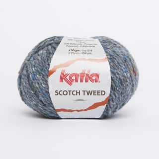 KATIA Scotch Tweed - 67 džínsová