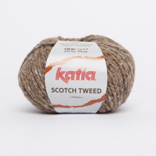 KATIA Scotch Tweed - 61 orieškovo hnedá