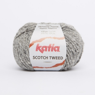 KATIA Scotch Tweed - 64 šedá