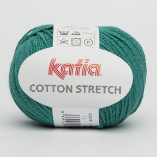 KATIA Cotton Stretch - 19 smaragdová